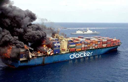 Burning Docker